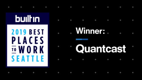 Quantcast Named One of the Best Places to Work in Seattle