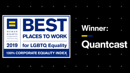 Quantcast earns top marks in 2019 Corporate Equality Index