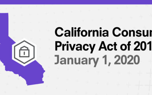 What is the California Consumer Privacy Act – CCPA?
