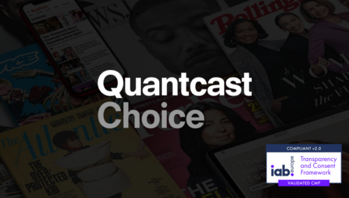 Free access to the upgraded Quantcast Choice CMP to support the switchover to IAB TCF v2.0