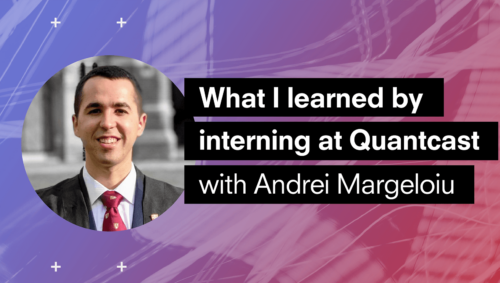 What I Learned By Interning at Quantcast