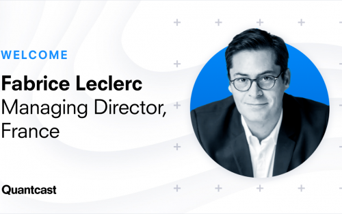 Fabrice Leclerc Joins Quantcast's French Team to Drive the Company's Next Phase of Growth