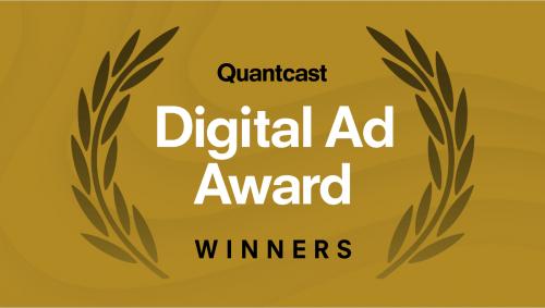 Quantcast Digital Ad Award Winners 2021